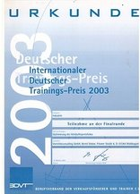 Deutscher Trainingspreis 2003